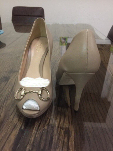 Authentic Gucci High Heel Shoes
