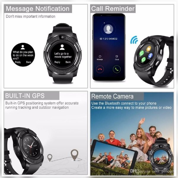 Used New bluetooth white elegant smart watch in Dubai, UAE