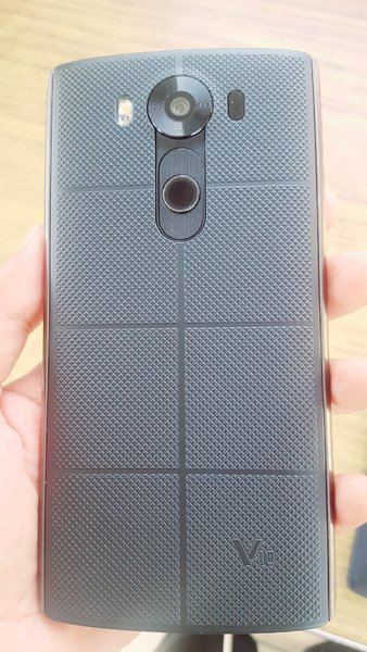 Used lg v10 with charger handsfree and cover in Dubai, UAE