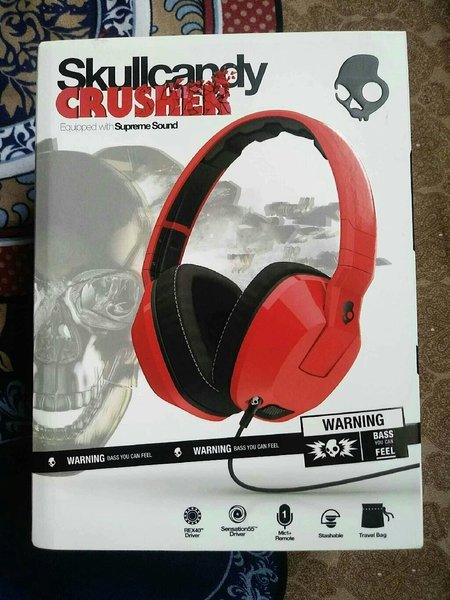Used 75% Off Skull Candy Crusher  Headphone in Dubai, UAE
