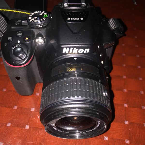 Nikon, D5300 24 5 MP, With Nikkor 18-55mm VR Lense, Camera Stand, I Buy It  On 07 April 2016
