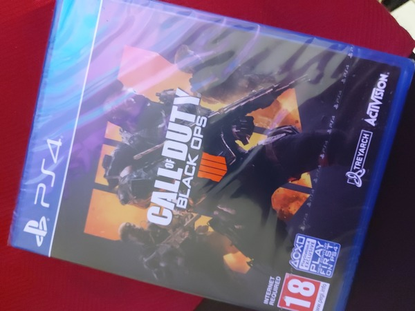 Used Sealed call of duty black ops 4 for ps4 in Dubai, UAE