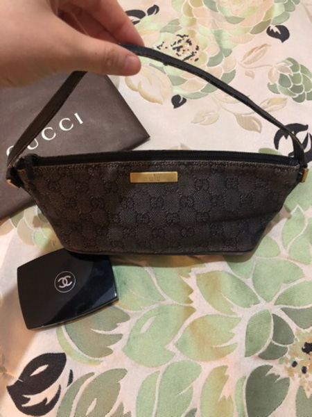 Gucci small bag clutch authentic