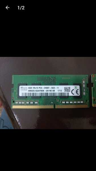 Used Ram ddr4 laptop 4gb in Dubai, UAE