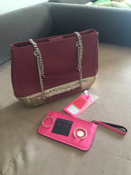 Used Bundle Offer: Bag, Pouch, Earrings, Tag in Dubai, UAE
