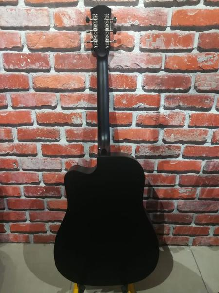 Used Brand New Acoustic Guitar size 41, Black in Dubai, UAE