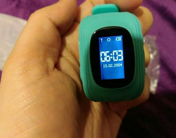 Used Q50 Smart Kid smart Watch SOS Call LocationTracker for Child Anti Lost Monitor Wristwatch- Blue in Dubai, UAE