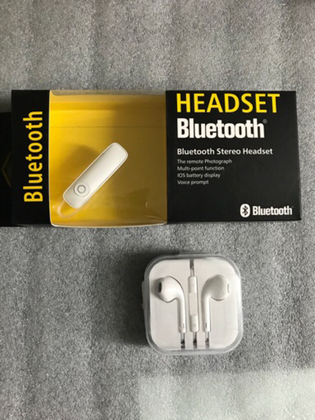 Used Brand new Bluetooth + Earphones  in Dubai, UAE