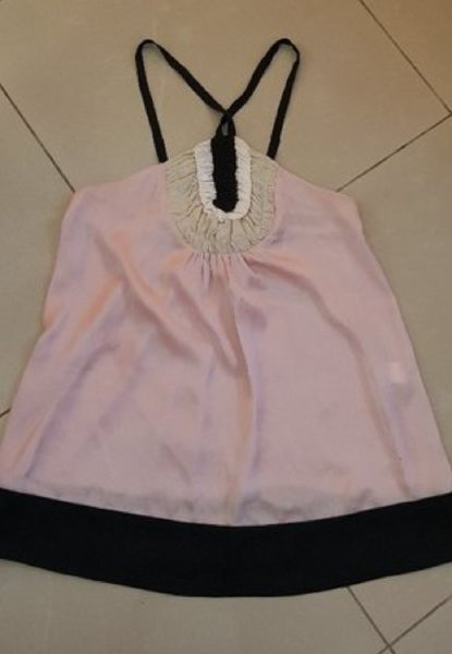 Used Zara silk long top size 10uk in Dubai, UAE