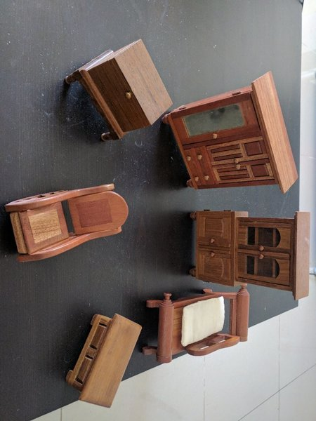 Used Miniature Furniture set in Dubai, UAE