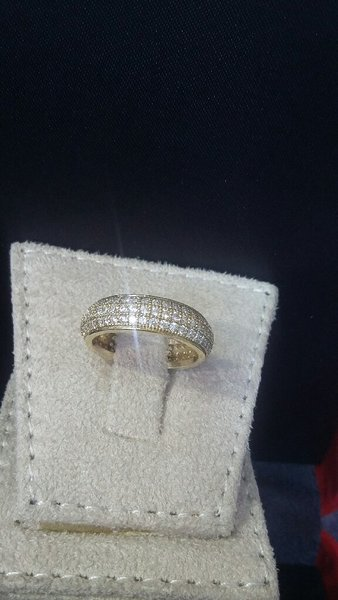 Used Italian silver ladies RING (US SIZE7) in Dubai, UAE