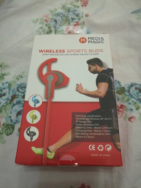 Used MEDIA MAGIC SPORT FIT BLUETOOTH EARPHONE in Dubai, UAE