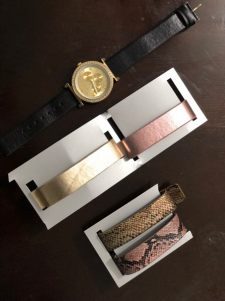 Used ALDO watch with 4 bands  in Dubai, UAE