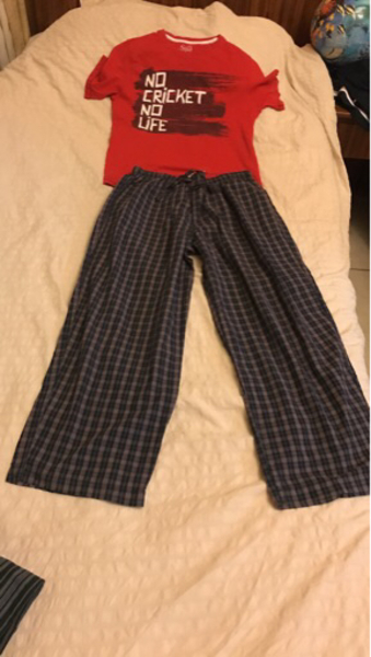 Used Night suit Calvin Klein pyjamas 10-12 yr in Dubai, UAE