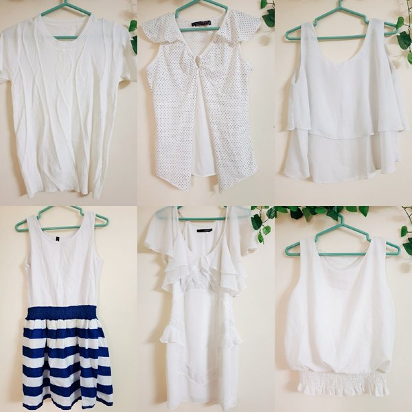 Used White clothes bundle in Dubai, UAE