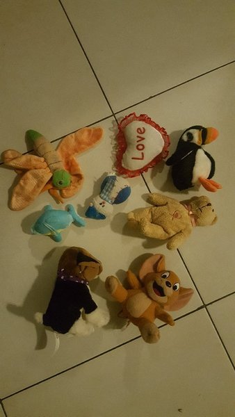 Used Teddy bears!! THROW AWAY OFFER!! in Dubai, UAE