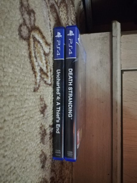 Used PS4 Uncharted 4 & Death Stranding in Dubai, UAE