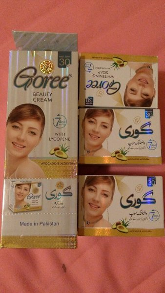 Used Goree cream and soap in Dubai, UAE