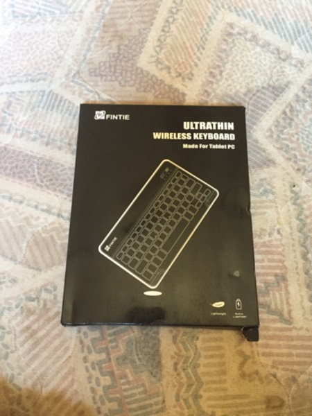 Used Bluetooth keyboard brend new with charg in Dubai, UAE