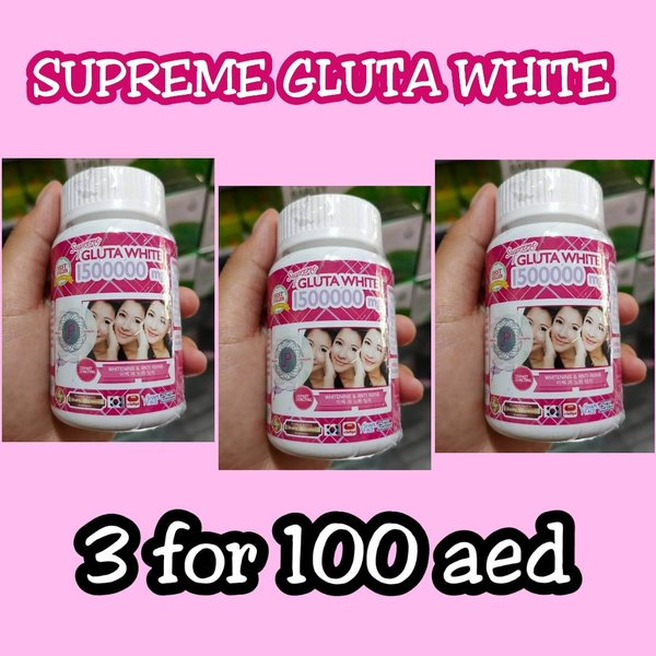 Used SUPREME GLUTA 3 FOR 135 in Dubai, UAE
