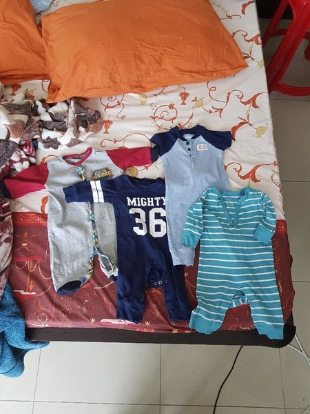 Used Baby sleepers 3monts in Dubai, UAE