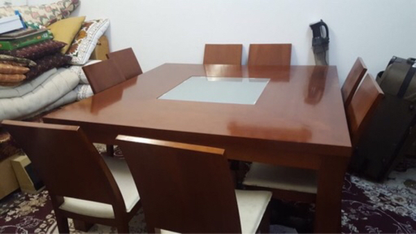 Preloved Wooden Dining Table.