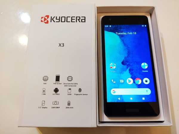 Used Kyocera X3 3/32GB+Fast Charger&Earphones in Dubai, UAE