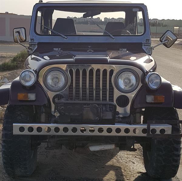 Used CJ 7 JEEP WRANGLER GORGEOUS  in Dubai, UAE