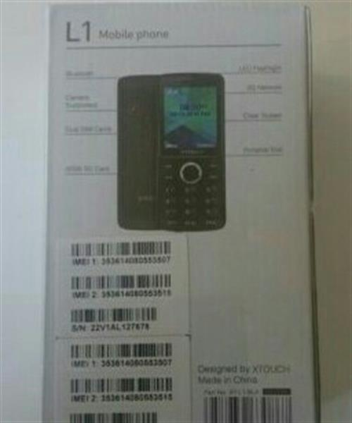 Seal Pack Xtouch Dual Sim Mobile. For Long Battery Life. This Is Not Smartphone.
