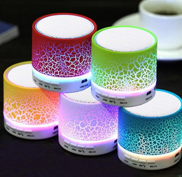 Used Mini Bluetooth Light Speaker With Micro SD&USB Support.. in Dubai, UAE