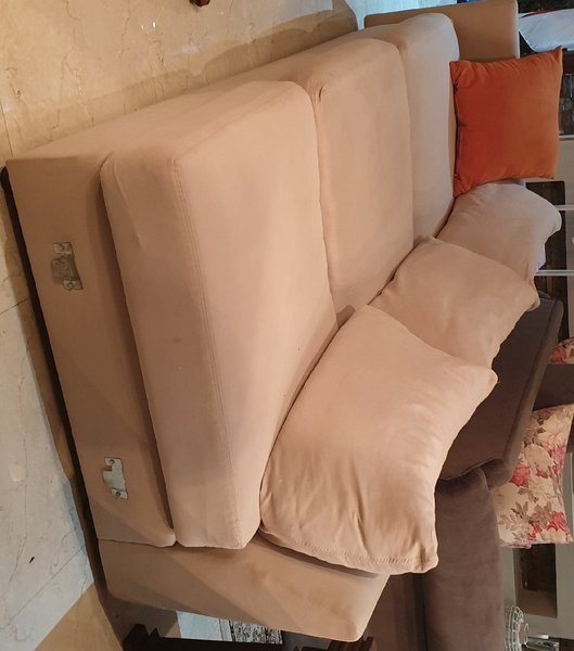 Used Two piece one set couch in Dubai, UAE