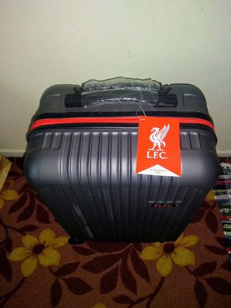 Used Liverpool FC Official Cabin Baggage in Dubai, UAE