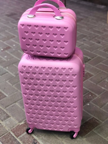 Used Trolley bag with hand carry bag in Dubai, UAE