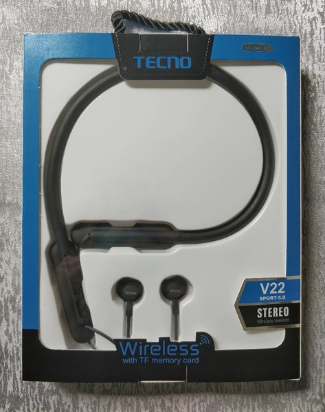 Used Tecno wireless earphones NEW! in Dubai, UAE