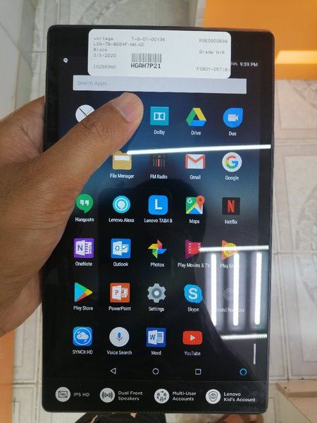 Used Lenova tablet tb 8504f 16gb in Dubai, UAE