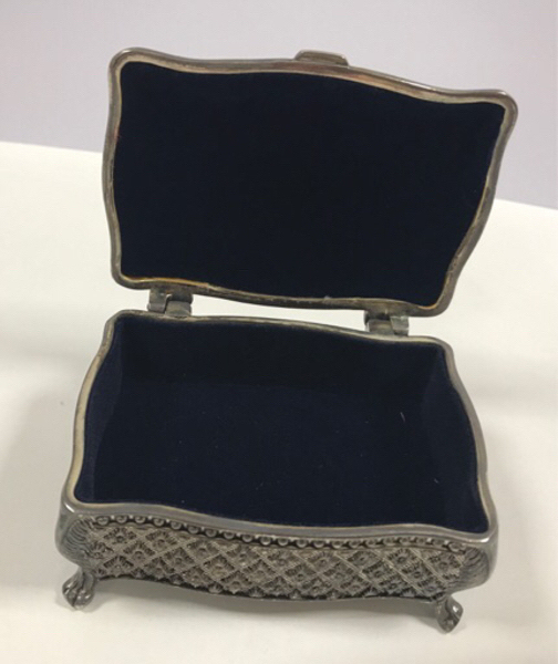 Used Small Silver Jewelry Box in Dubai, UAE