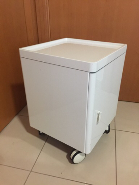 Used 2 Storage unit or Nightstand with wheels in Dubai, UAE