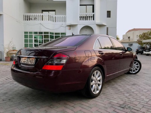 Used Mercedes BenzS500 full-option 2008 model in Dubai, UAE