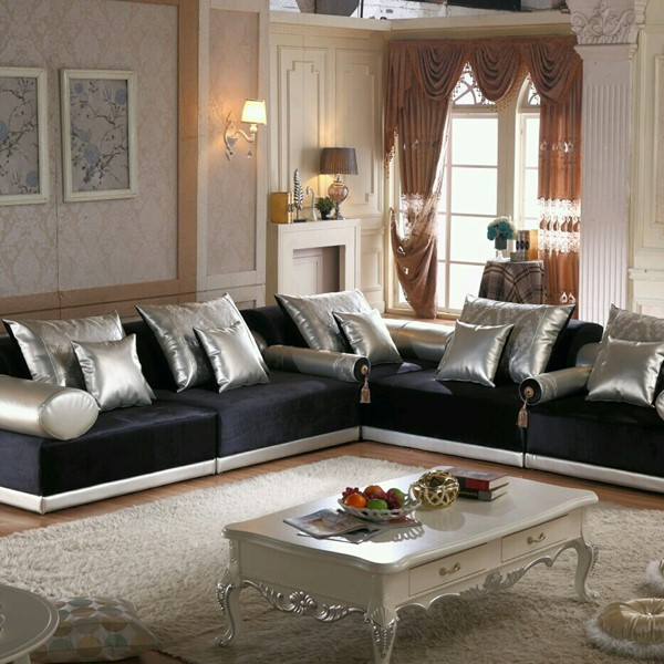 Used Morocco Sofa CASABLANCA Black And Grey in Dubai, UAE