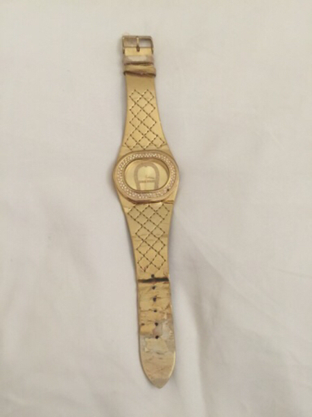 Used AIGNER steel watch (water resistant) in Dubai, UAE