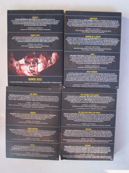 Used DVD Box: Hitchcock Collection (15 discs) in Dubai, UAE