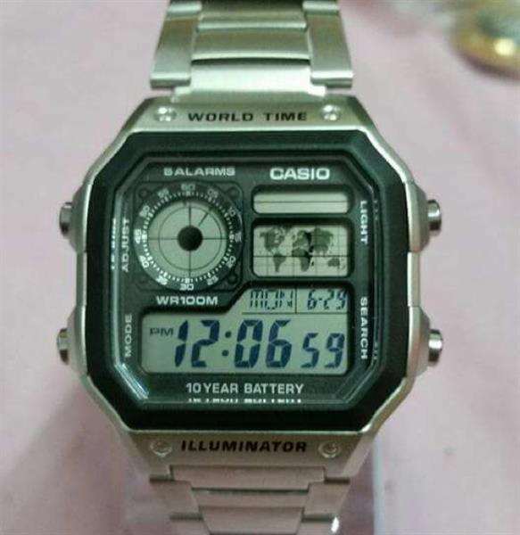 Used Casio Original Watch With Casio Box in Dubai, UAE