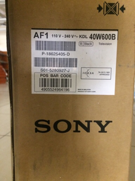 Used Sony Bravia40w600B in Dubai, UAE