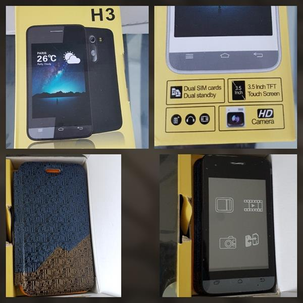 Used BRAND NEW H3 PHONE with Free Cover in Dubai, UAE