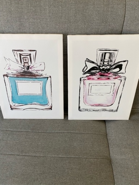 Used 2 New Miss Dior Printed Paintings in Dubai, UAE