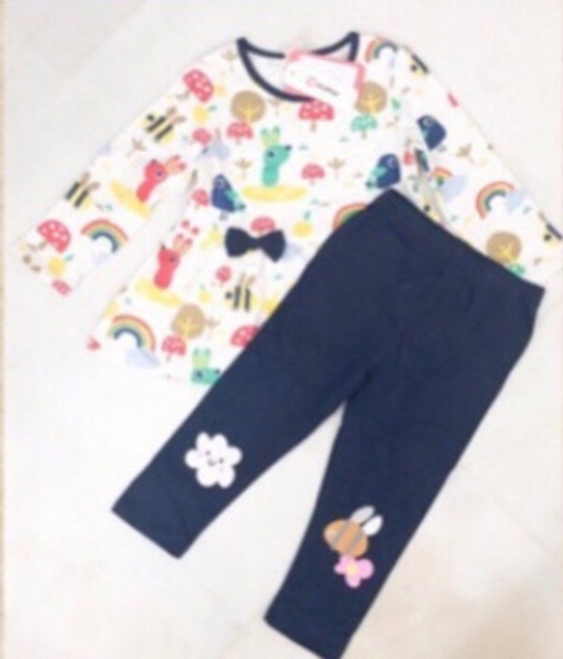Used PatPat Casual Suit for Girls/ 2-4 yrs in Dubai, UAE