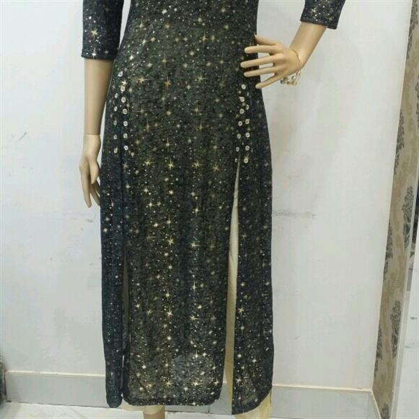 Used Brand New designer kurti/cape with matching leggings in Dubai, UAE