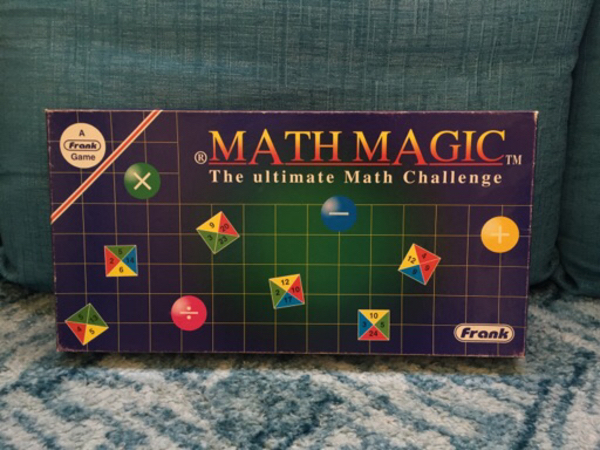 Used Math Magic Scrabble Board Game in Dubai, UAE