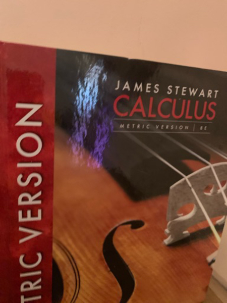 Used metric version calculus James Stewart 8E in Dubai, UAE