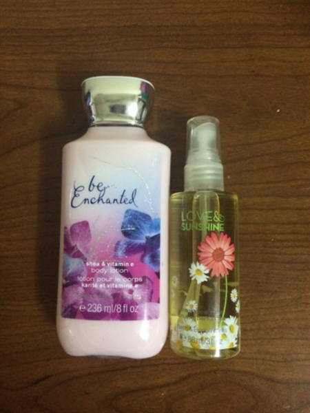 Used Lotion and body spray in Dubai, UAE